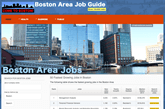 Guide To Boston Area Jobs
