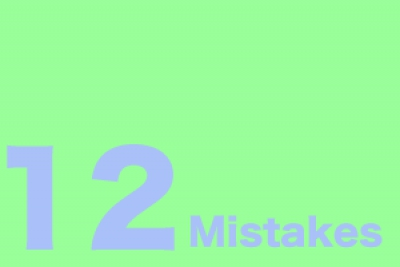12 Mistakes buyers make
